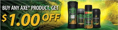 WebSaver Canada Coupons: Save $1 On Any Axe Product
