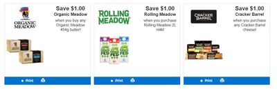 Dairy Farmers Of Ontario Printable Coupons: Save $1 On Rolling Meadow Milk +More!