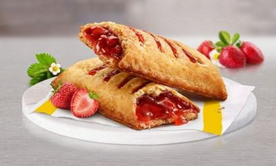 Baked Strawberry Pie  at McDonald's Canada