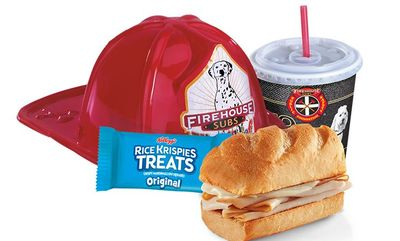 Hot Turkey & Provolone at Firehouse Subs