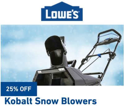 Lowe's Canada Weekly Sale: Save The Tax When You Spend $100 with Coupon Code + More Deals