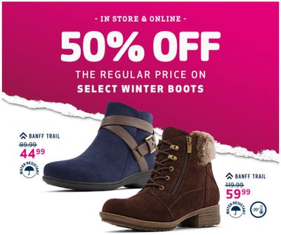 Globo Canada Flash Sale: Save 50% Off Winter Boots + 25% Off Shoes + Save an Extra 15% off with Coupon code!