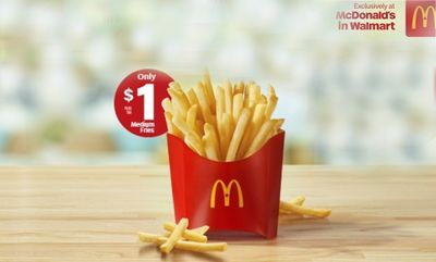 Surprise! Save on Fries! at McDonald's Canada