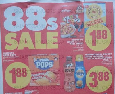 No Frills Ontario: Select Post Cereals 88 Cents After Coupon This Week!