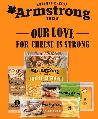 Canadian Coupons: Save 75 Cents On Any Armstrong Cheese