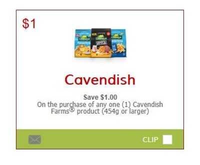 SmartSource Canada Coupons: Save $1 On Cavendish Farms