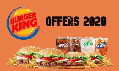 OFFERS CANADA at Burger King