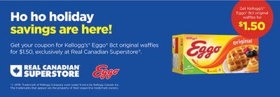 Real Canadian Superstore Canada Coupons: Get 8 Count Eggos for $1.50