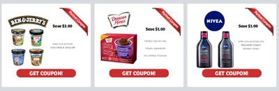 WebSaver Canada: New Printable Partner Coupons Available