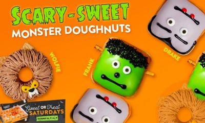 SCARYMONSTER DOUGHNUTS Canada at Krispy Kreme