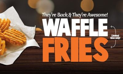 Waffle Fries at Mary Brown's