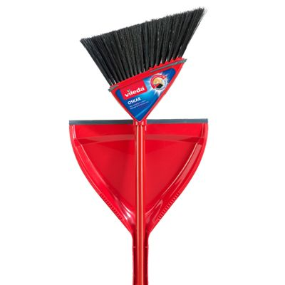 Save $2.00 when you buy one (1) Vileda Oskar Broom with dustpan