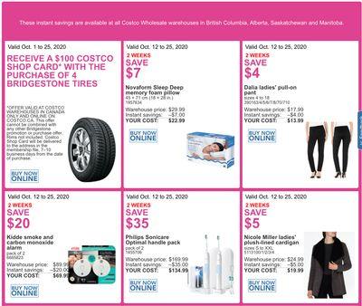 Costco Canada More Savings Weekly Coupons/Flyers for Western Canada: British Columbia, Alberta, Saskatchewan & Manitoba, until October 25