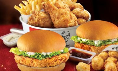 2 CAN DINE FOR $15 at KFC
