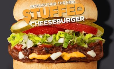 Stuffed Cheeseburger at Harvey's