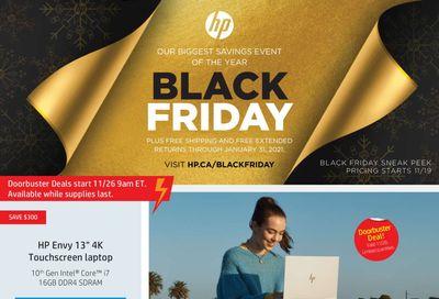 HP Hewlett-Packard Black Friday Flyer November 19 to December 6