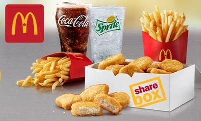 Sharebox  at McDonald's Canada