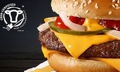 Quarter Pounder with Cheese. at McDonald's Canada