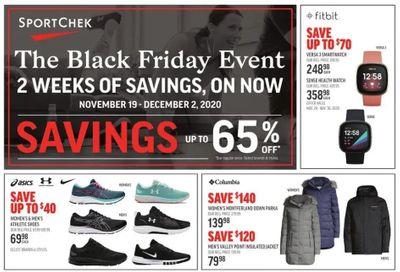 Sport Check Black Friday Flyer November 19 to December 2, 2020