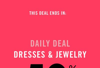 Reitmans Canada Black Friday Daily Deal:Save 50% off Select Dresses & Holiday Outfits