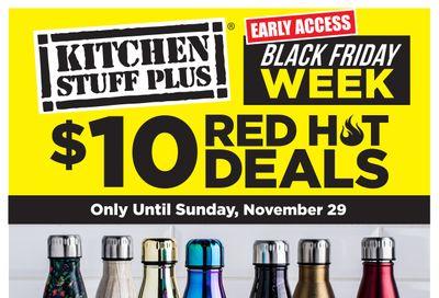 Kitchen Stuff Plus Black Friday Red Hot Deals Flyer November 23 to 29