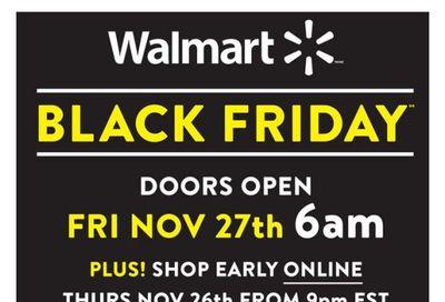 Walmart Black Friday Flyer November 27 to 29, 2020