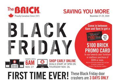 The Brick Black Friday Sale Flyer November 23 to December 3, 2020