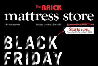 The Brick Mattress Store Black Friday Sale Flyer November 23 to December 3, 2020