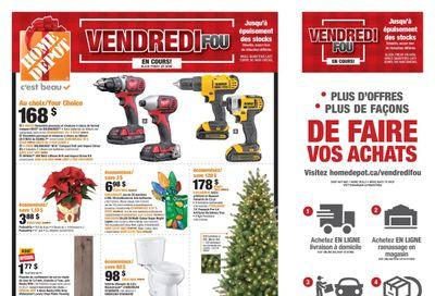Home Depot (QC) Black Friday Flyer November 26 to December 2, 2020