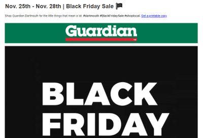 Guardian (Dartmouth Gate) Black Friday Flyer November 25 to 28