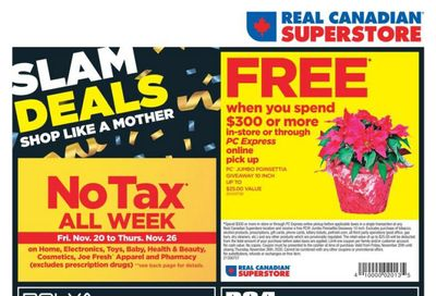 Real Canadian Superstore (West) Black Friday Flyer November 27 to December 2, 2020