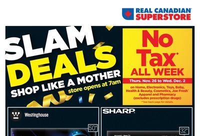 Real Canadian Superstore (ON) Black Friday Flyer November 27 to December 2, 2020