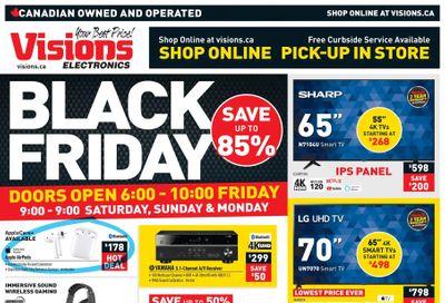 Visions Electronics Black Friday Flyer November 27 to December 3, 2020