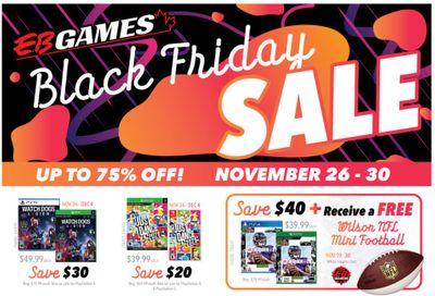 EB Games Black Friday Flyer November 26 to 30, 2020