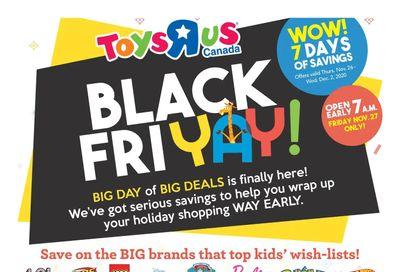 Toys R Us Black Friday Flyer November 26  to December 2, 2020