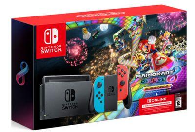 Nintendo Switch Mario Kart 8 Deluxe Bundle Black Friday Sale!