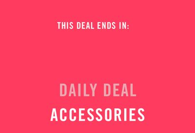 Reitmans Canada Black Friday Daily Deal:Save 50% off Accessories, Today!