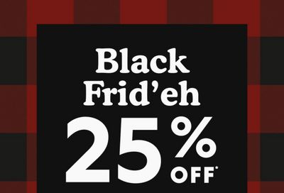 Roots Canada Black Friday 2020 Sale Starts NOW: Save 25% Off Everything Sitewide + Extra 40% Off Sale Items & Script Collection