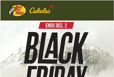 Cabela's Canada Black Friday 2020 Sale is LIVE NOW!