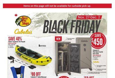 Cabela's Black Friday Flyer November 27 to December 2, 2020
