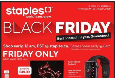 Staples Canada Black Friday 2020 Flyer Deals!