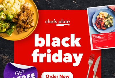 Chefs Plate Canada Black Friday Flash Sale: Get 10 FREE Meals