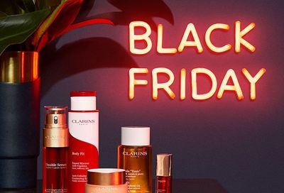 Clarins Canada Black Friday Sale Starts Today: Save 25% Off + FREE Shipping