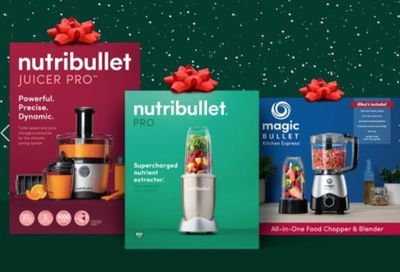 NutriBullet Canada Black Friday Sale: 25% Off Entire Purchase Using Promo Code