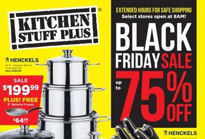 Kitchen Stuff Plus Black Friday Flyer November 26 to December 6, 2020