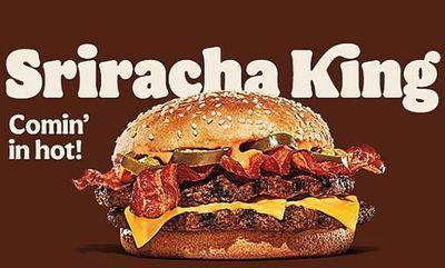 Sriracha King at Burger King