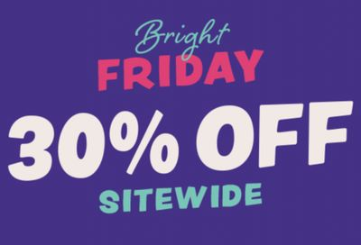 Crocs Canada Bright Friday Sale:30% off Sitewide + Up To 50% Off Doorbusters