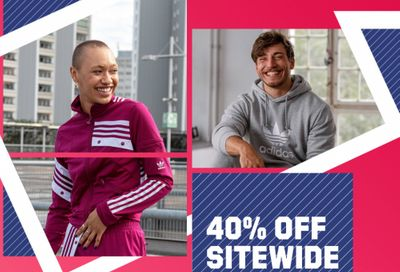 Adidas CanadaBlack Friday Sale: 40% Off Sitewide + Extra 40% Off Outlet Using Promo Code