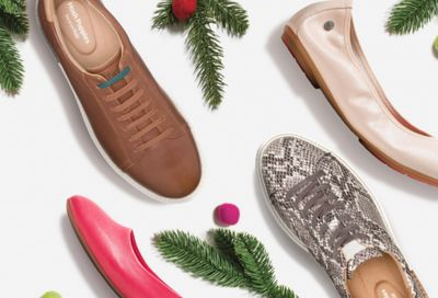 Hush Puppies Canada Black Friday Cyber Savings Sale: 30% Off Sitewide + 20% Off Sale Items Using Promo Code + FREE Shipping & More