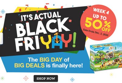 """Toys """"R"""" Us Canada Black Friday Sale LIVE Now: Save up to 50% off"""